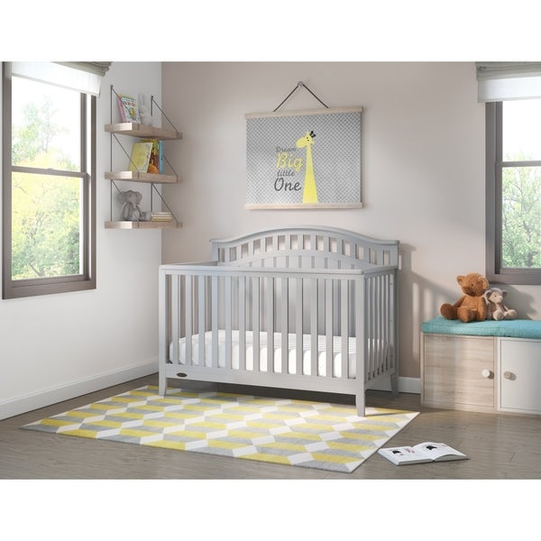 Shop Graco Harper 4-in-1 Convertible Crib, White, Easily ...