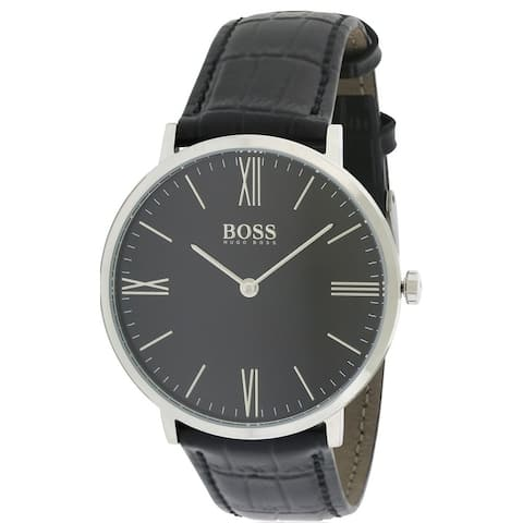 Hugo Boss Jackson Leather Mens Watch 1513369