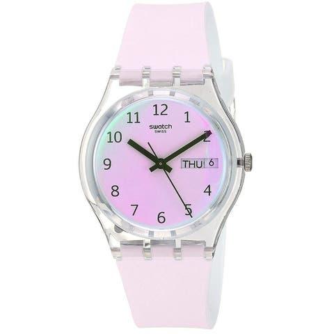 Swatch Ultrarose Ladies Watch GE714