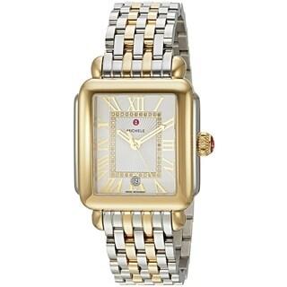 Michele Deco Madison Diamond Two-Tone Ladies Watch MWW06T000147