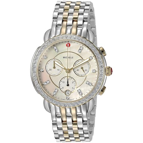 Michele Sidney Chronograph Diamond Ladies Watch MWW30A000005