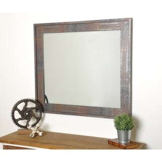 Industrial Russt Modern Industrial Accent Mirror