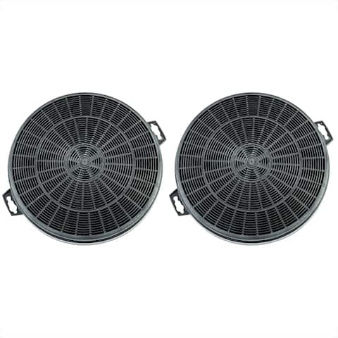 AKDY Carbon Filters for Ductless/Ventless Option Easy Installation Replacement for Range Hood