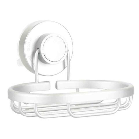 Aluminum Soap Dish, Silver