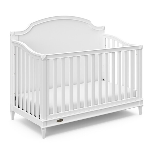 Shop Graco Alicia 4-in-1 Convertible Crib, White, Easily ...
