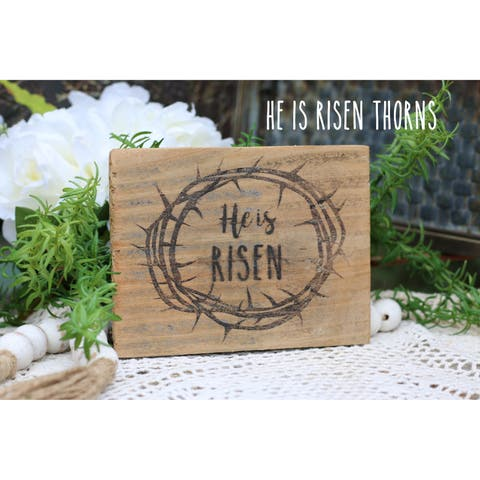 He is Risen Easter Print