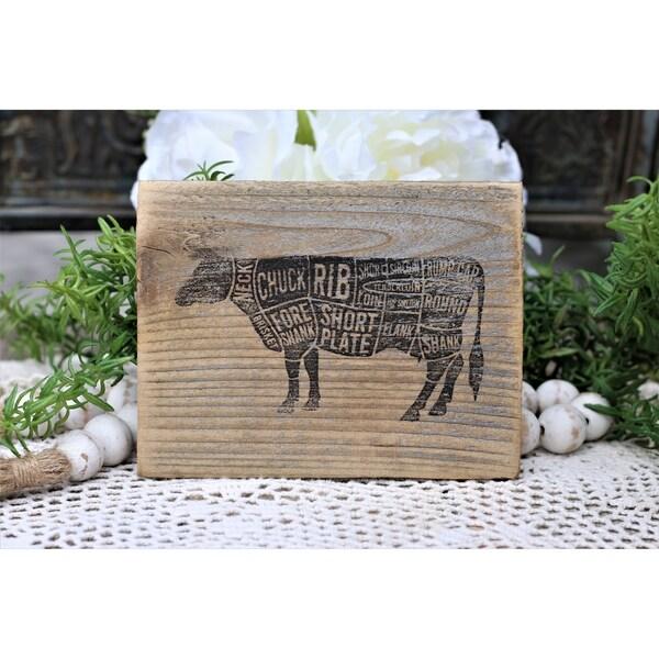 Farmhouse Print Beef
