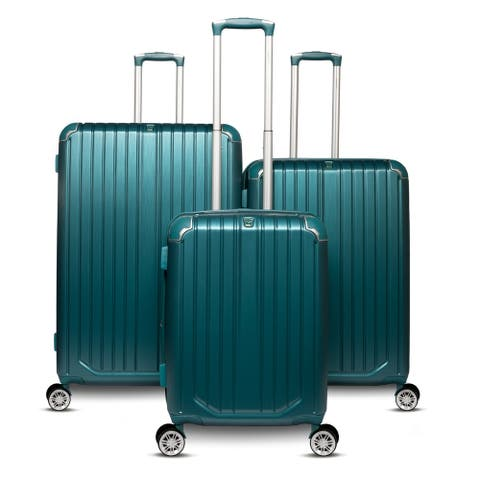 The Gabrielle Collection 3 Piece Hardside Spinner Luggage Set
