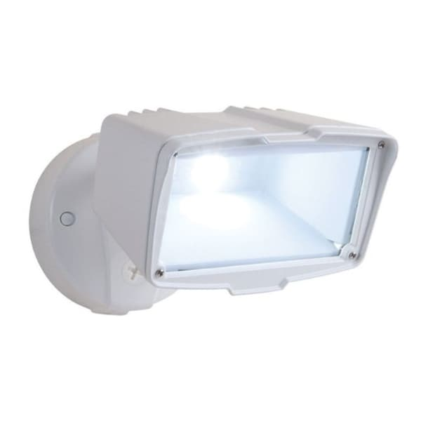 Halo Switch Hardwired LED White Floodlight