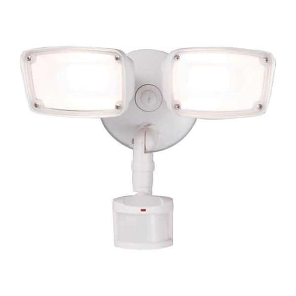 Halo Motion-Sensing Hardwired LED White Security Light. Opens flyout.