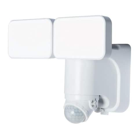 Heath Zenith Motion-Sensing Solar Powered LED White Security Light