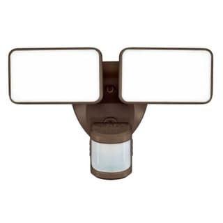 Link to Heath Zenith  Motion-Sensing  Hardwired  LED  Bronze  Security Wall Light Similar Items in Electrical