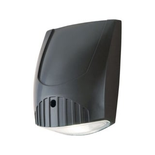 Link to All-Pro  Dusk to Dawn  LED  Bronze  Wall Pack Light Fixture  Hardwired Similar Items in Electrical
