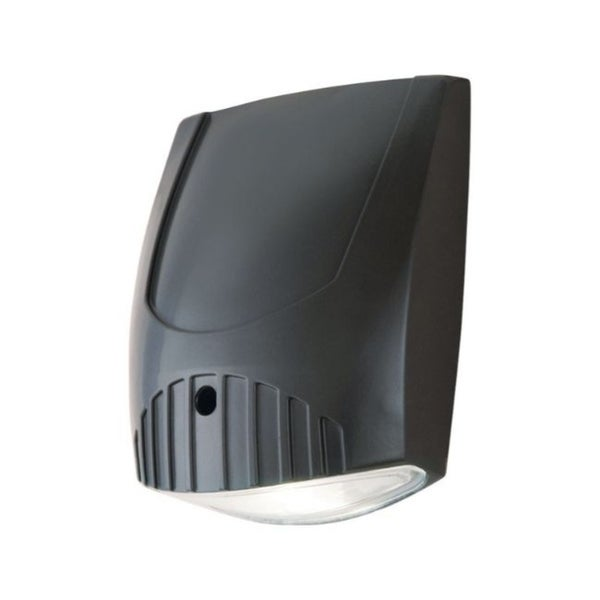 All-Pro Dusk to Dawn LED Bronze Wall Pack Light Fixture Hardwired. Opens flyout.