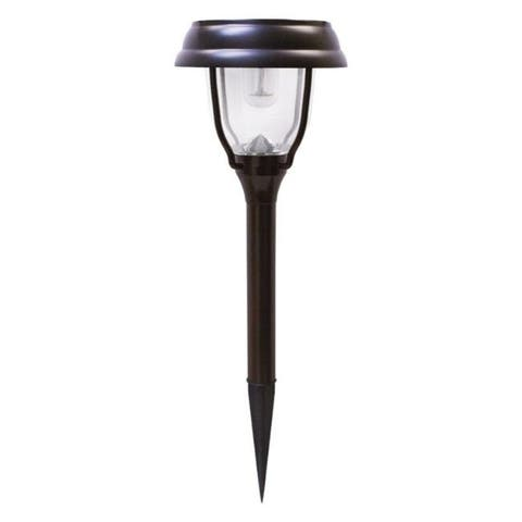 Gama Sonic Brown Solar Powered LED Garden Stake 1 pk