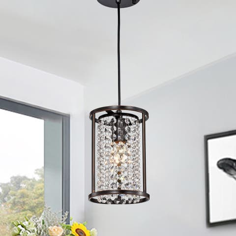 Chalte Oil Rubbed Bronze 1-light 6-inch Pendant