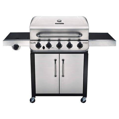 Char-Broil Performance Series 5-Burner Gas Grill - Black/Silver