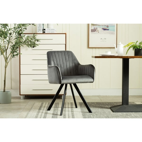 Chrome Dining Room Chairs: Shop Porthos Home Kady Dining Room Chairs, Velvet