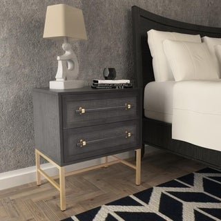 Hopper Studio Sophia Black Nightstand