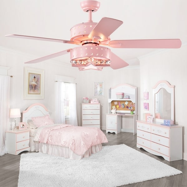 Shop Funder 52-inch Star & Crescent Childrens Room Lighted ...