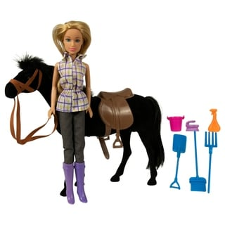 Link to Western Doll and Horse Riding Set - Black Similar Items in Dolls & Dollhouses