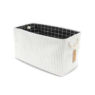 """Handmade Canvas Storage/Laundry Bin by Handcrafted 4 Home - 22"""" x 11"""" x 13"""""""