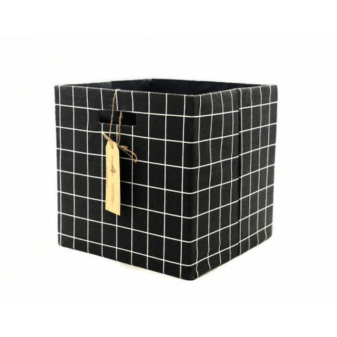 Porch & Den Neirman Handmade Foldable Storage Cube (Set of 2)