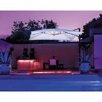 SimplyShade Bali Pro 10' Square Cantilever with Starlights