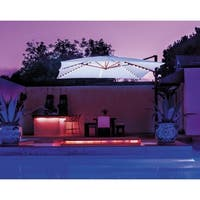 SimplyShade Bali Pro Square Cantilever with Starlights - 10' x 10'