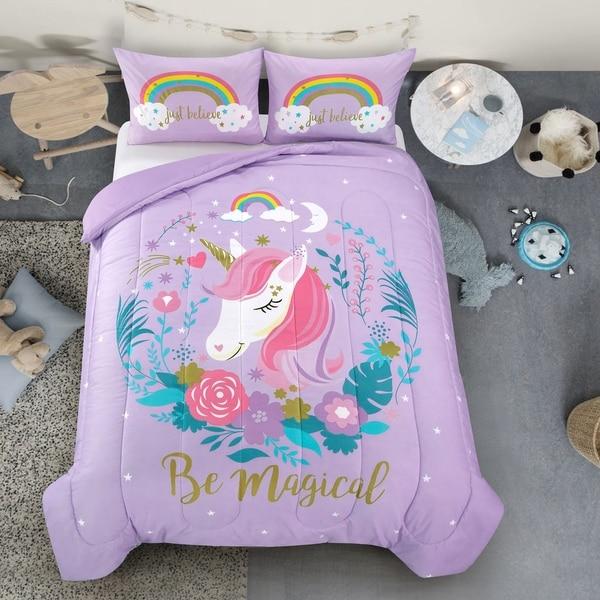 Unicorn Comforter Set