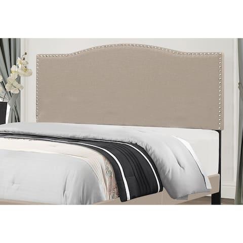 Copper Grove Durkheim Fabric Headboard with Bed Frame