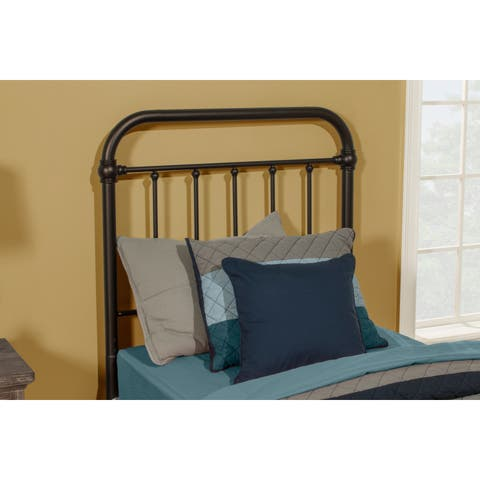 Carbon Loft Tamika Metal Headboard with Bed Frame Included