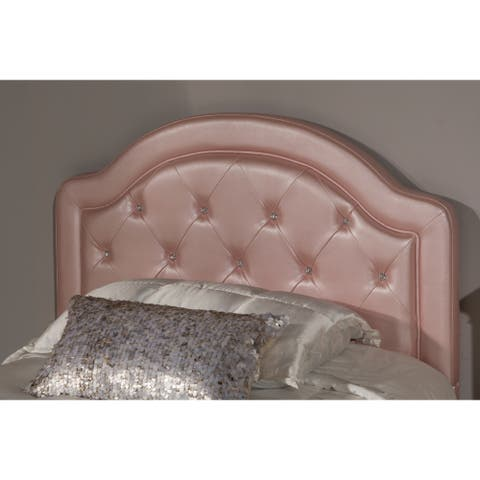 Karley Headboard (Bed Frame Not Included) Pink Faux Leather