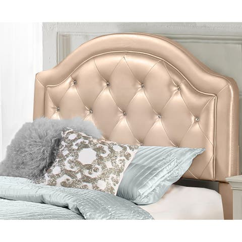 Karley Headboard (Bed Frame Not Included) Champagne Faux Leather