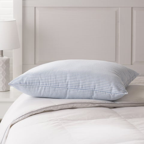 Weatherproof Vintage Home Stripe Bounce Back Pillow - Blue/White