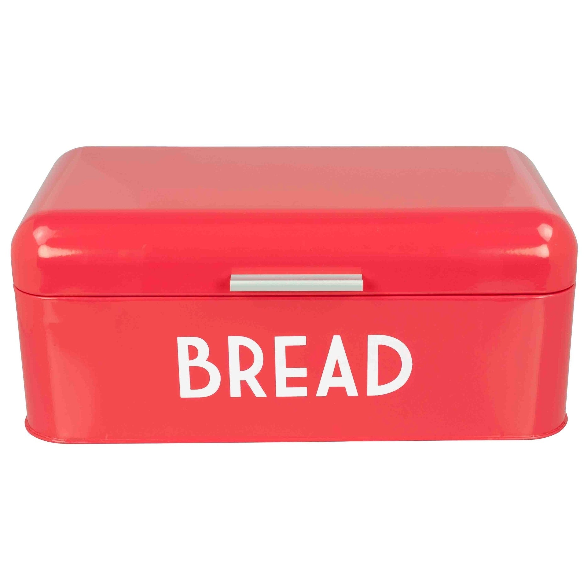 Metal Bread Box with Lid