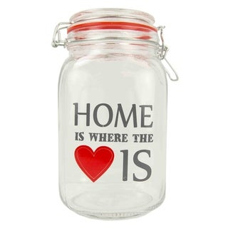 Home is Where the Heart Is 51 oz. Glass Jar