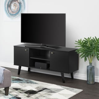 """Link to Milo Mid Century Modern 56-Inch TV Console - 56"""" W x 25"""" H x 16"""" D Similar Items in Media Cabinets"""