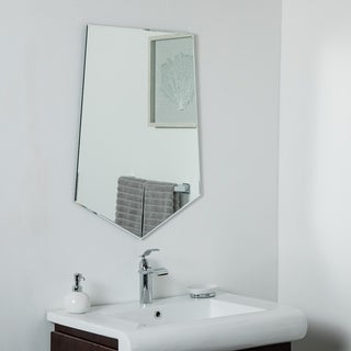 Penta Frameless Bevel Mirror 31.5 x 23.6 Wall Mirror - Silver - 31.5x23.6x.5