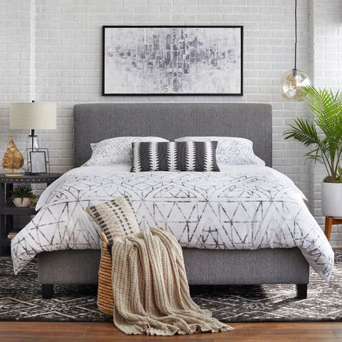 Lifestorey Emery Upholstered Queen Bed