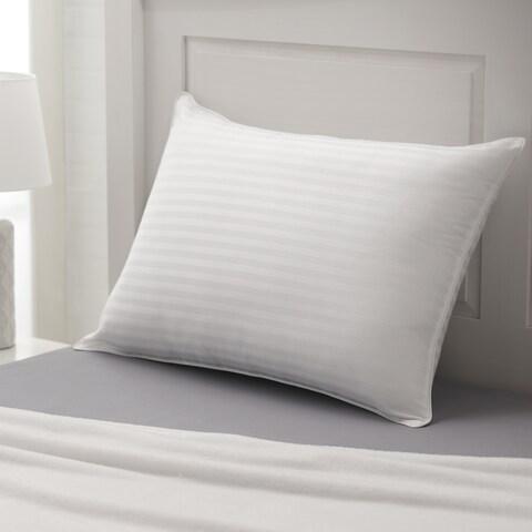 Weatherproof Vintage Home Dobby Stripe Cotton Pillow - White