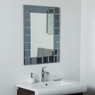 Link to SilverLake Large Frameless Mirror 31.5 x 23.6in Wall Mirror - Silver - 31.5x23.6x.5 Similar Items in Mirrors