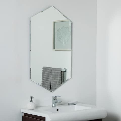 Gal Frameless Mirror 39.5 x 23.6 in Wall Mirror - Silver - 39.5x23.6x.5