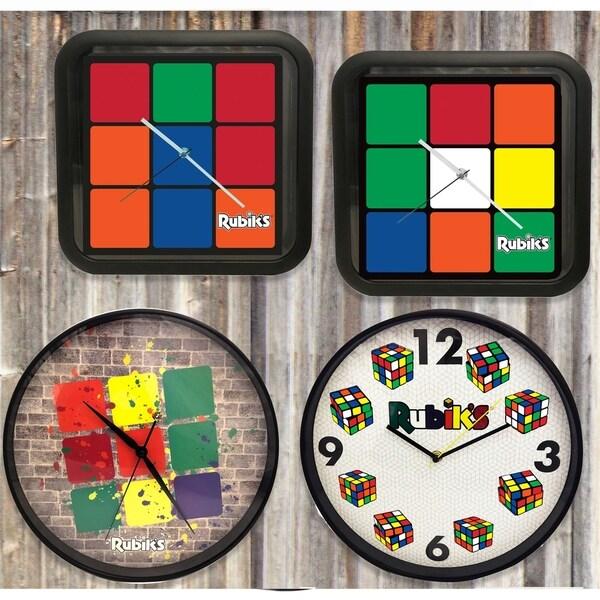 Rubik's Wall Clock