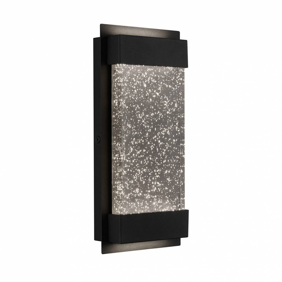 Essence Bubble Glow Box, 6 Weather Resistant Outdoor Light, Black