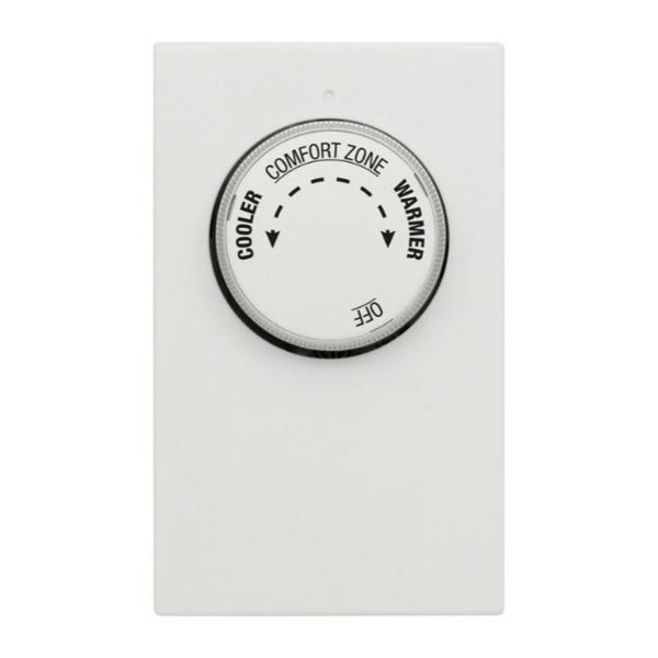 Lux Heating Dial Double Pole Line Voltage Thermostat