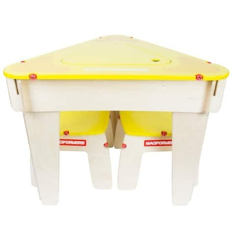 Magformers Yellow Triangle Table