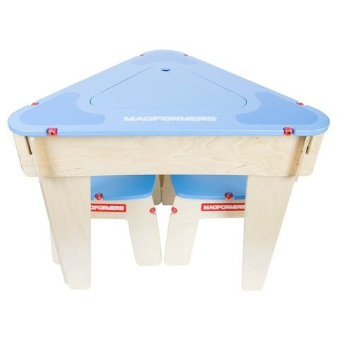 Magformers Blue Triangle Table