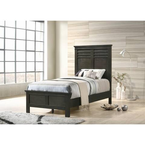 Porch & Den Cecilia Wood Panel Bed
