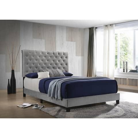 Porch & Den Fullner Upholstered Panel Bed